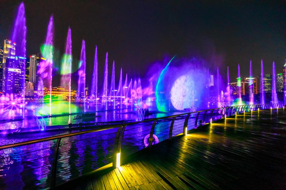 Show de luces, lima, parques