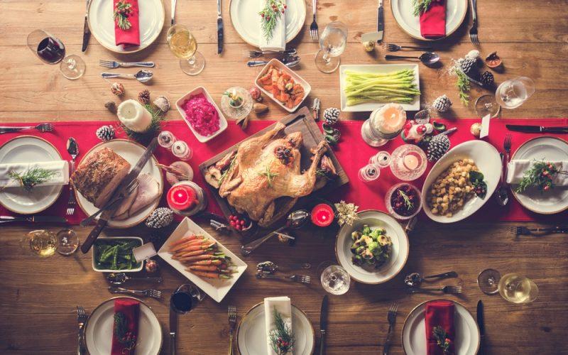 cena, navidad, Perú, comida, nochebuena, pavo, panetón, arroz, manzana, guarniciones, puré, navideño